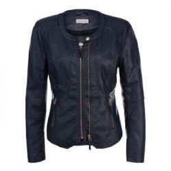 Куртка кожаная Lamania Синяя