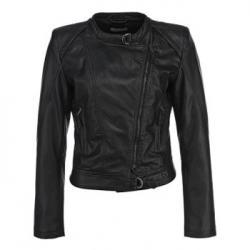 Куртка кожаная Lamania Черная