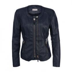 Кожаная куртка Lamania Синяя