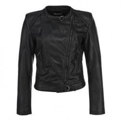 Кожаная куртка Lamania Черная