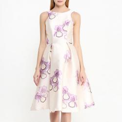 Платье Chi Chi London Бежевое