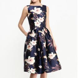 Платье Chi Chi London Синее