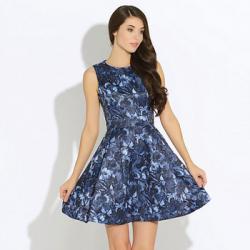 Платье Oodji Синее