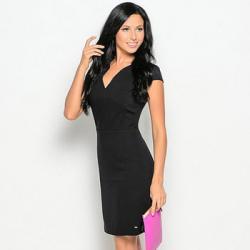 Черное платье Oodji